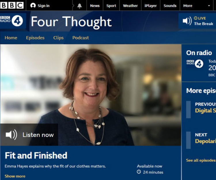 BBC Radio 4 Four Thought ident